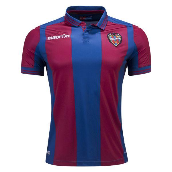 Levante 16/17 Home Soccer Jersey - WorldSoccershop.com | WORLDSOCCERSHOP.COM