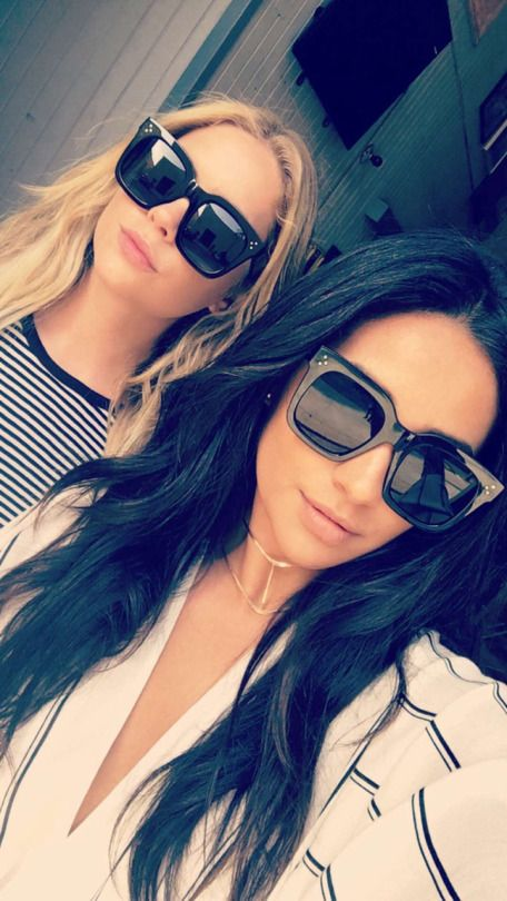 Shay Mitchell and Ashley