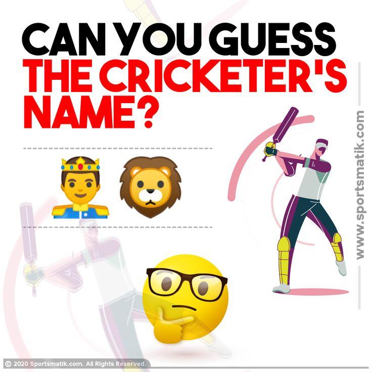 Sports quiz in 2020 Sports quiz, Cricketers names, Quiz