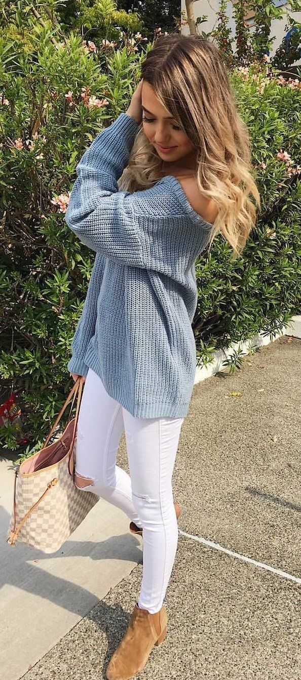 79888466c46 40 Chic and Stylish Fall Outfits Ideas 2018