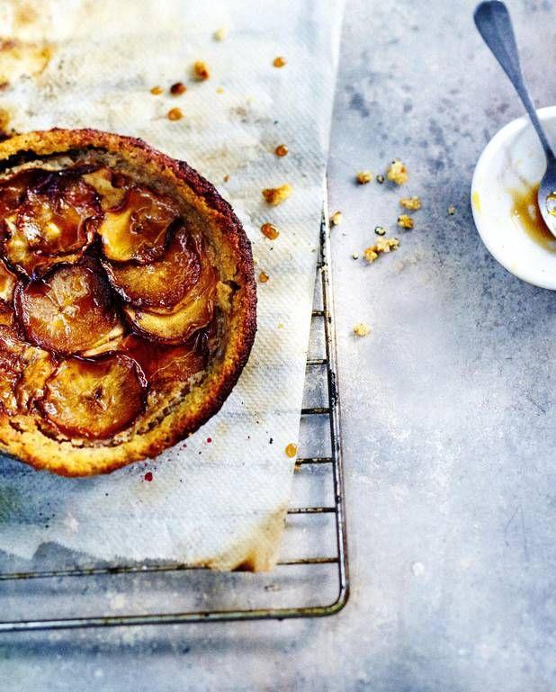 Gâteau aux pommes, ricotta et amandes pour 6 personnes - Recettes Elle à Table