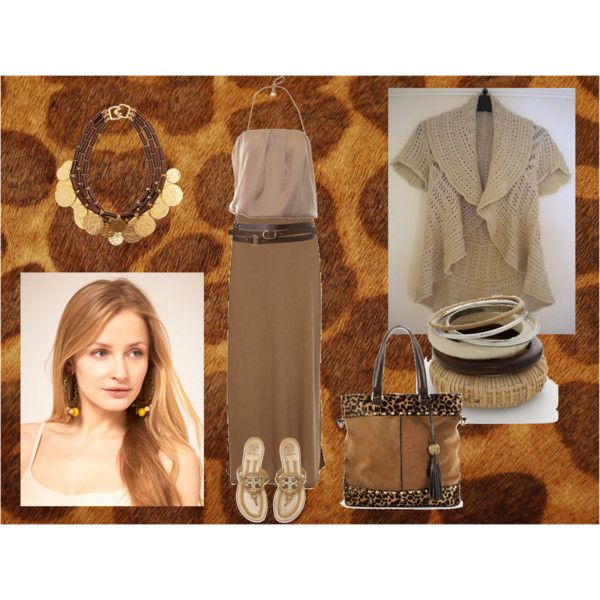 Natural animalier, created by dea-afrodite on Polyvore
