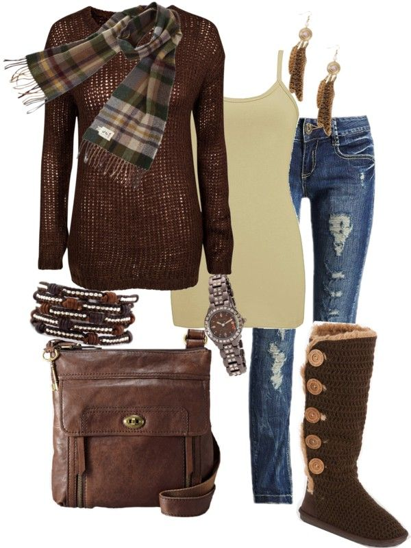 """Omigosh...I LOVE these boots. That's the only reason I'm pinning this outfit!! YIKES. MUST have 5 button boots. I have a few pair of Bailey button triplets but FIVE buttons in a knit style no less. SO CUTE!!!! """"New Year's Eve Bonfire"""" by tina-harris on Polyvore"""