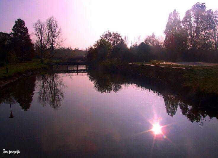 Napcsillag a víztükrön