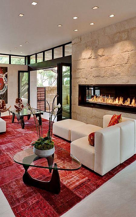 Salas Em Vermelho. Living Room DesignsLiving ... Part 70