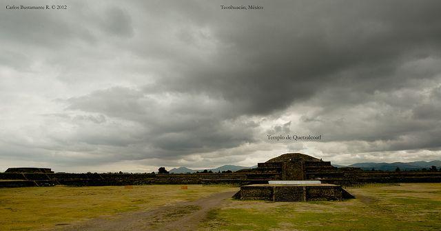 Templo de Quetzalcoatl, Teotihuacán, México. | Flickr - Photo Sharing!