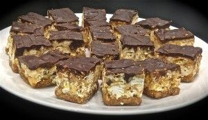 Popcorn slice recipe. The texture of this slice is very interesting and we all know that you can't go wrong with chocolate and caramel.