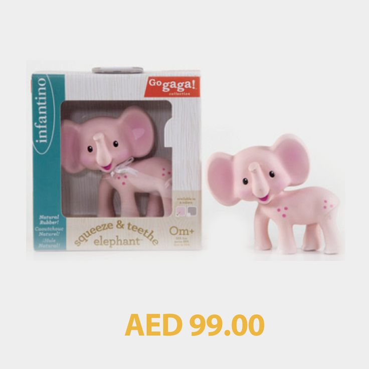 Infantino Squeeze & Teethe Grey/Pink Assorted #kids #toys #games #toystore #kidstore #online #shopping #menakart #kidsactivityset