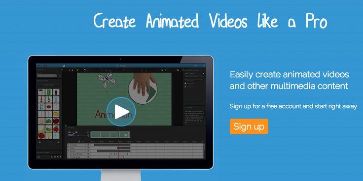 Moovly. Animeer zelf als een pro. Als je al een beetje snapt hoe je video's moet 'editen', gaat er een nieuwe wereld voor je open in Moovly. Zélf gave animaties maken. Gebruik makend van een uitgebreide 'library' van illustraties, geluiden en animatievarianten.  Er zit een complete monteerstudio in deze tool. Het is even werken, maar dan heb je ook wel een héél originele manier om je verhaal over te brengen.