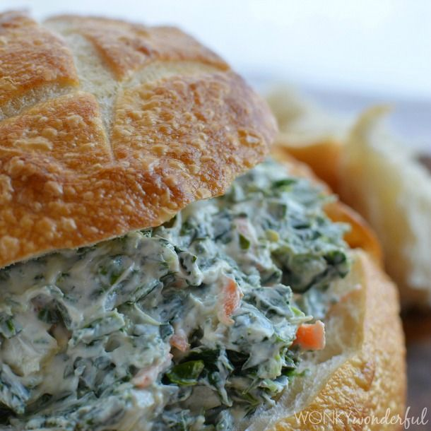 This Spinach Dip Recipe one of my family's favorite appetizers! It has all the flavor of traditional spinach dip, but I have lightened it up over the years.