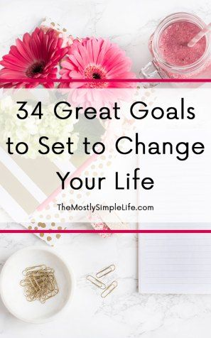 If you're looking for inspiration on goals to set for the upcoming year, check out this list! There are so many great, attainable goals that will help you lead a more productive and healthy life!