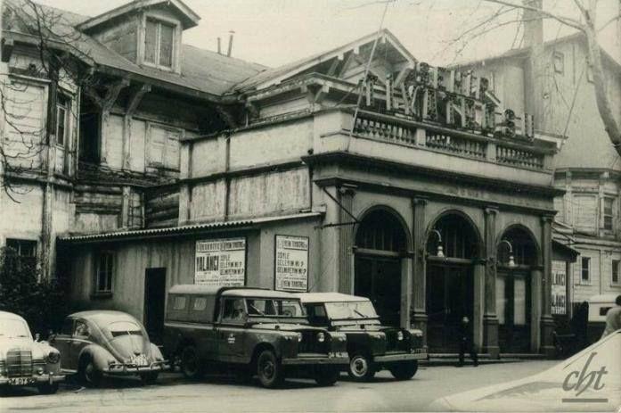 İstanbul Tepebaşı Şehir Tiyatrosu-17.04.1970 YILINDA YANDI BİTTİ KÜL OLDU