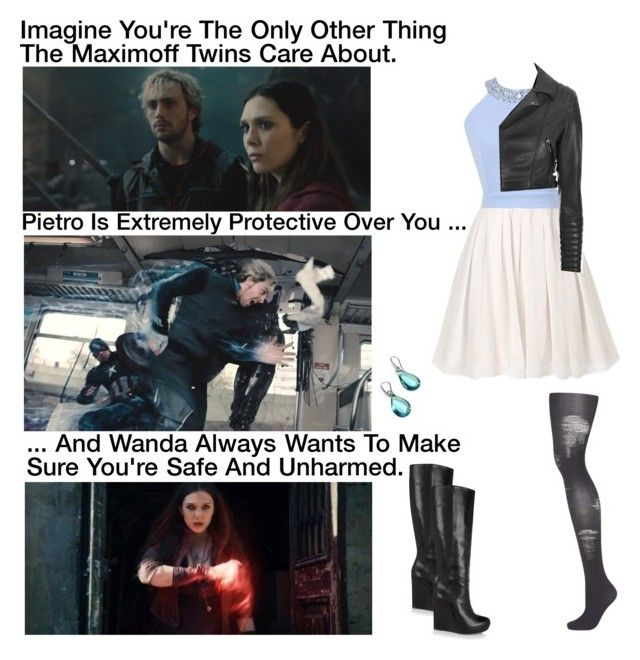 """Imagine You're The Only Other Thing The Maximoff Twins Care About."" by alyssaclair-winchester ❤ liked on Polyvore featuring Quiksilver, Marni, Topshop, Glamorous and Antica Murrina"