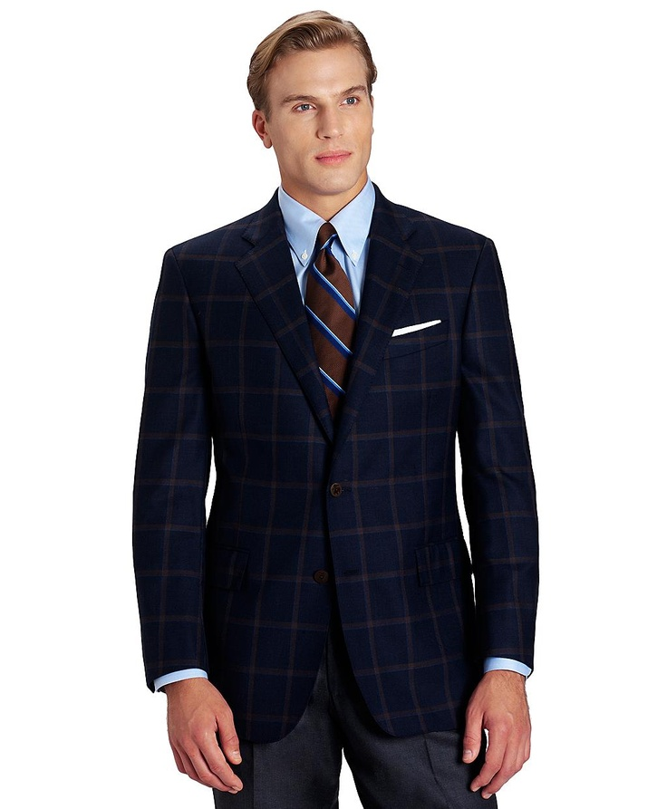 Patterned Brooks Brothers Sports Coat