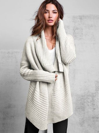 One button Cardigan Sweater
