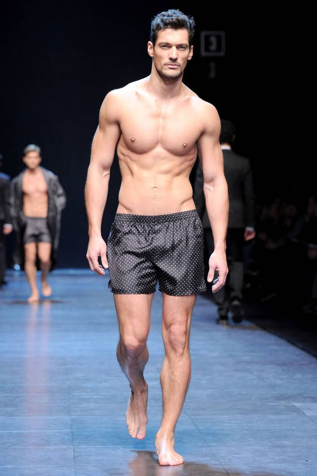 David Gandy teams up with Marks  Spencer on a collection of underwear