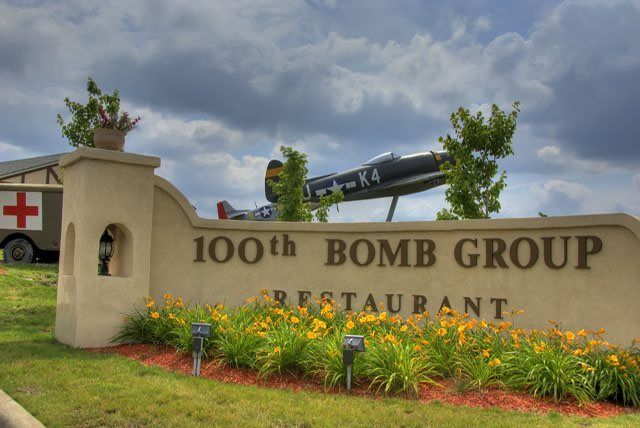 100th Bomb Group Restaurant in Brookpark, Ohio across from Cleveland Hopkins International Airport. Mom used to take us here to eat during holidays.
