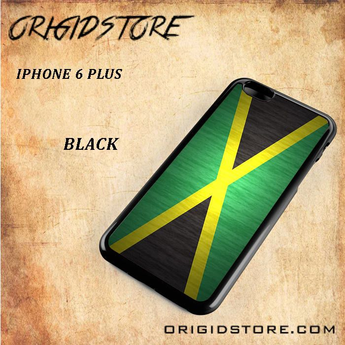 Jamaican Wood Flag For Iphone 6 Plus Case - Gift Present Multiple Choice