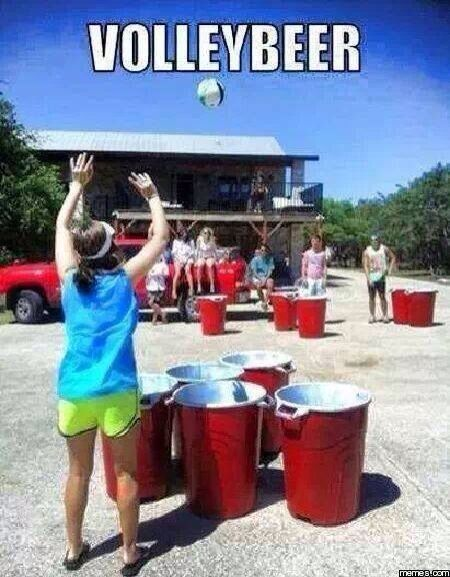 Volley pong!