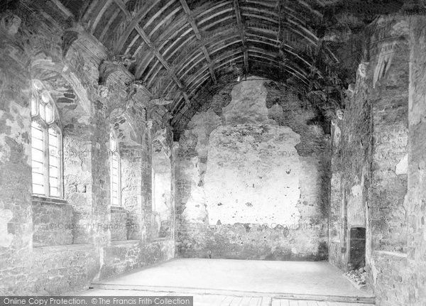 Old Cleeve, Abbey, Refectory 1913, from Francis Frith