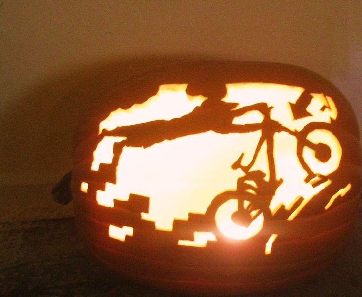 Best pumpkin bike art images on pinterest bicycles