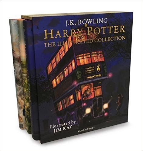 Harry Potter - The Illustrated Collection: Three magical classics: J.K. Rowling, Jim Kay: 9781408897317: Books - Amazon.ca
