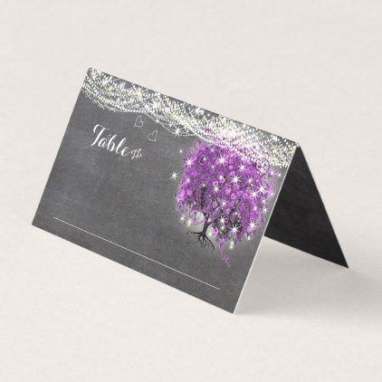 #wedding - #Lapis Blue Heart Leaf Tree Wedding Place Cards