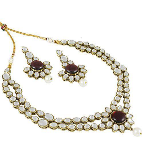 VVS Jewellers Red Stone Kundan Indian Bollywood Gold Plat... https://www.amazon.com/dp/B06Y2D4TY5/ref=cm_sw_r_pi_dp_x_KjCczb29SYV3P