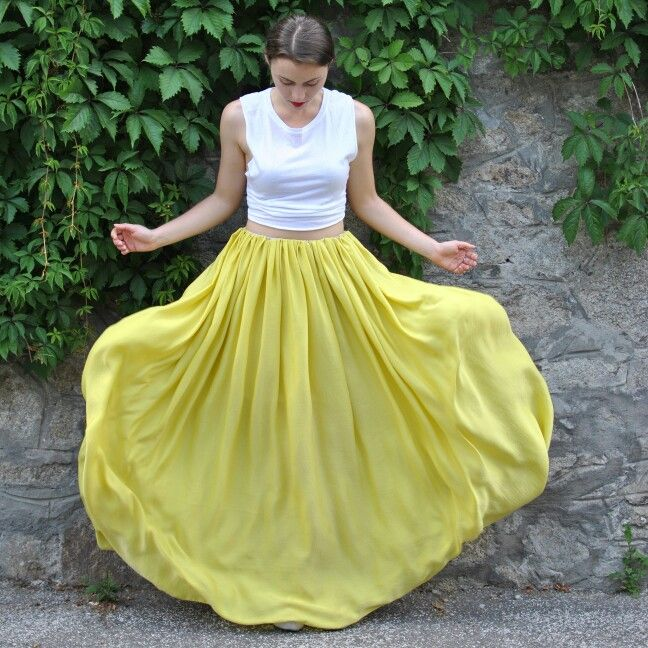 Lime skirt by Heavenly