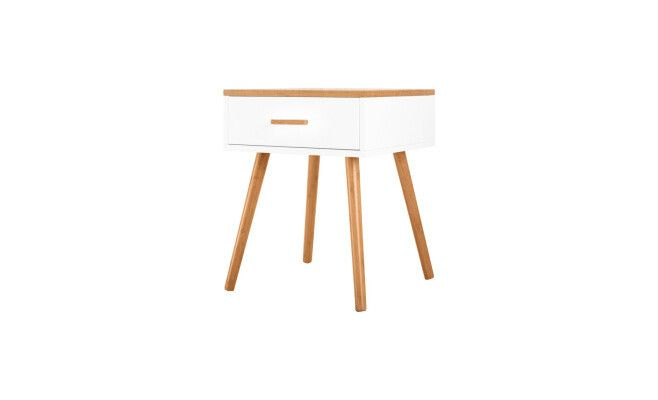 17 beste idee n over table de chevet scandinave op pinterest table de nuit bois slaapkamer - Tafel bois blanc vieilli ...