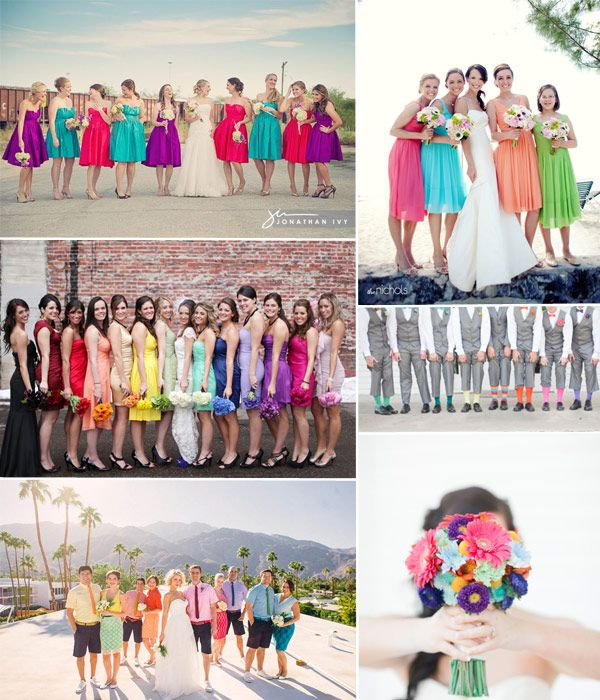 Bright and Colourful Wedding Ideas for Spring/Summer 2014-2015