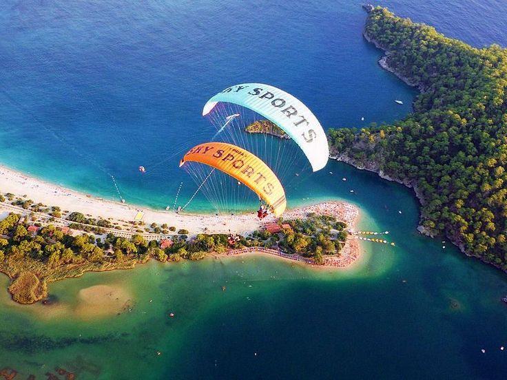 Paragliding in Fethiye http://uzumlu-info.com