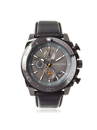 57% OFF Giorgio Fedon 1919 Men's GIOGFBC004 Speed Timer III Black/Charcoal Stainless Steel Watch