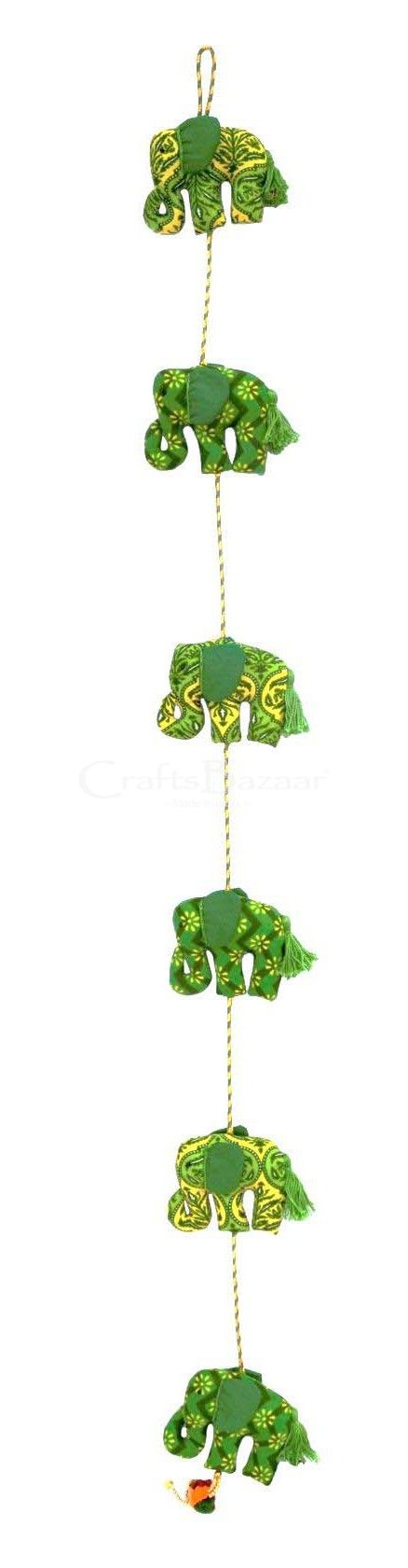 This is an embellished wall hanging, widely used in worldwide. It is a traditional item. This is an Indian handmade green elephant door hanging hand art. Each one has been handcrafted, hand printed. This wall hanging gives a royal touch to your home with this patch and embroidery work. Highlighting the fine and elaborate detailing, this beautiful art surprise for loved one; this designer wall hanging absolutely is an exclusive choice for your home d #artsandcrafts #craftsofindia…