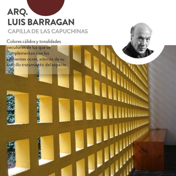 Pin De Mas De Arquitectos En Luis Barragán /Arquitectura