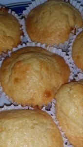Peach muffins  15 servings