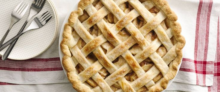 Jump-start your pie baking with Betty Crocker pie crust mix.  Mmm! Apple-licious.