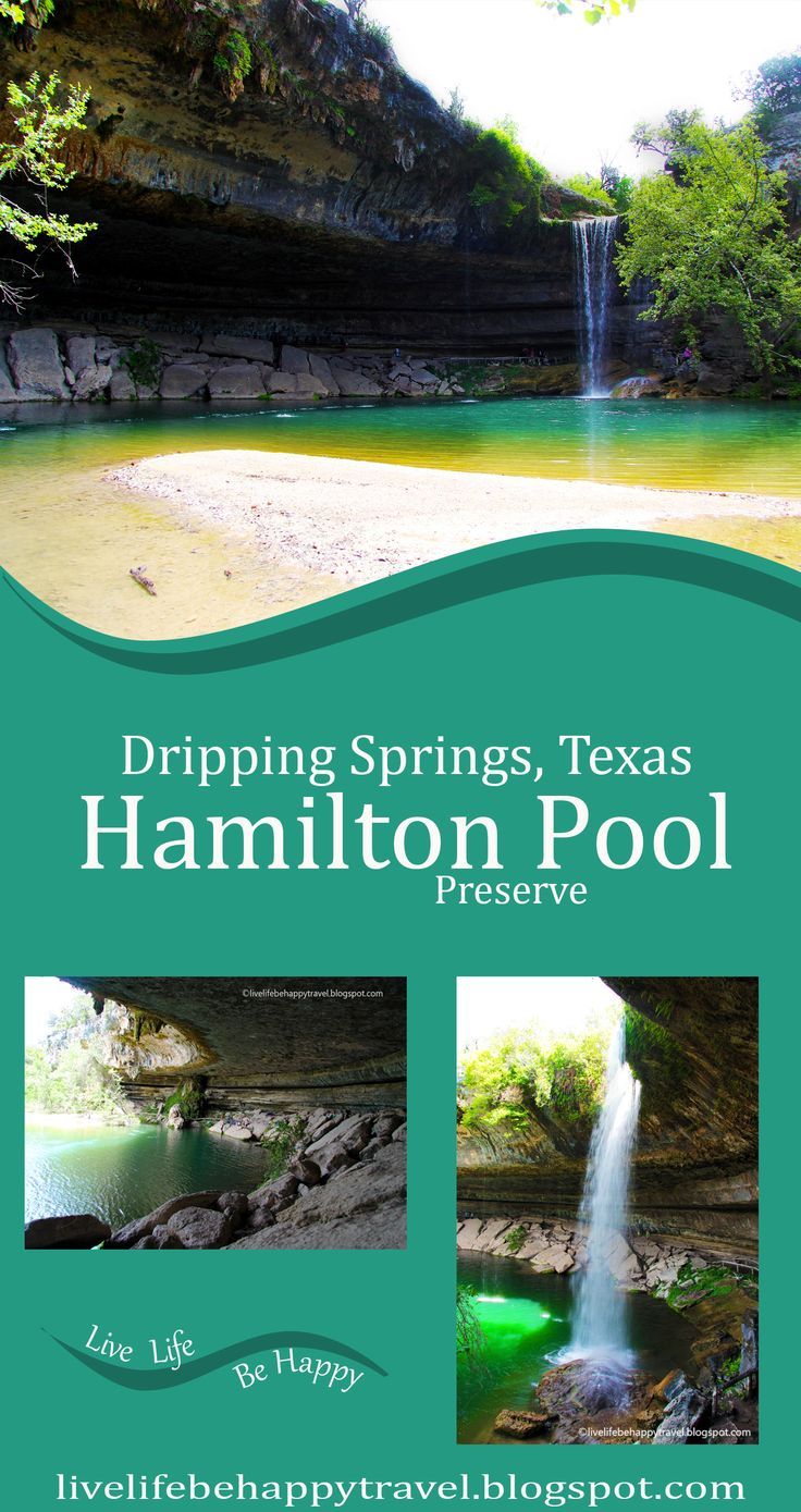 One of the Most Amazing Places in the United States - Hamilton Pool - Dripping Springs -Texas - Near Austin - Texas swimming holes