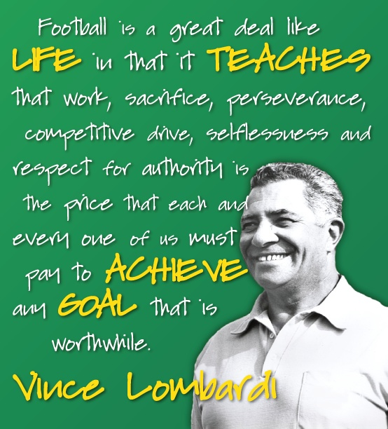 Vince Lombardi Quote: 31 Best Lombardi Quotes Images On Pinterest