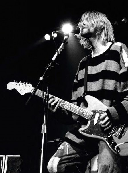 """At the time I was writing those songs, I really didn't know what I was trying to say. There's no point in my even trying to analyze or explain it. That used to be the biggest subject in an interview: """"What are your lyrics about?"""" -Kurt Cobain"""