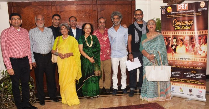 Oct 2017, Mumbai:Godrej CFBP Consumer Film Festival's Jury finally decided on the winners at the meeting held at Bajaj Bhawan. The Jury, which boasted of a wide range of eminent personalities included