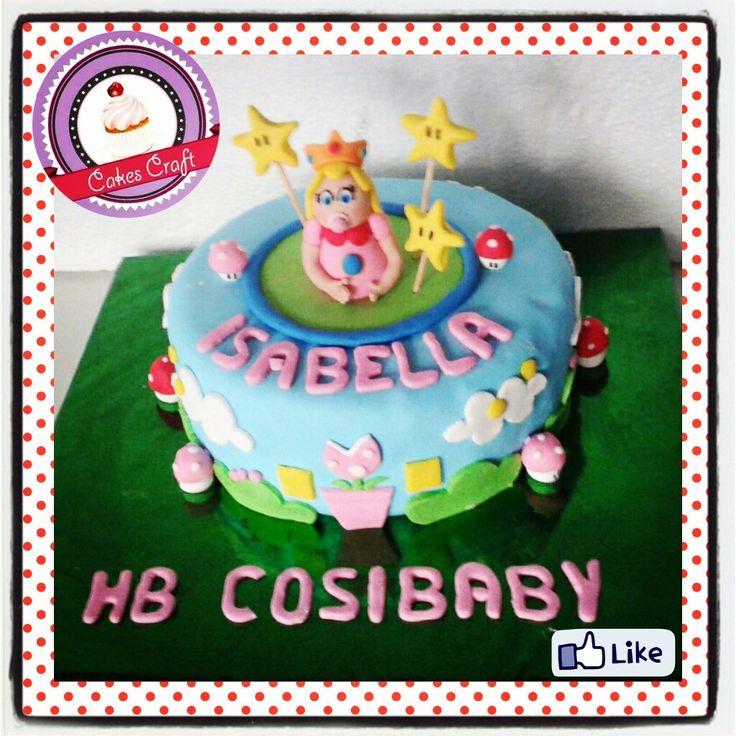 Baby peach Cake!/ CID - 518 #tortatematica #barranquilla #cakestagram #uniautonoma #uniatlantico #uninorte #unilibre #unimetro  #hbd #cumpleaños #CakescraftKeados #cakeboss #cupcakewar #cakescraftbq #airsoft #halamadrid #jamesrodriguez10 #collagecostacaribe #enchufetv #peach #canalcaracol #mariobross #supermario #babypeach #rio2016 #marioworld #desafio2016 #desafiosuperhumanos #peachcake #nintendo