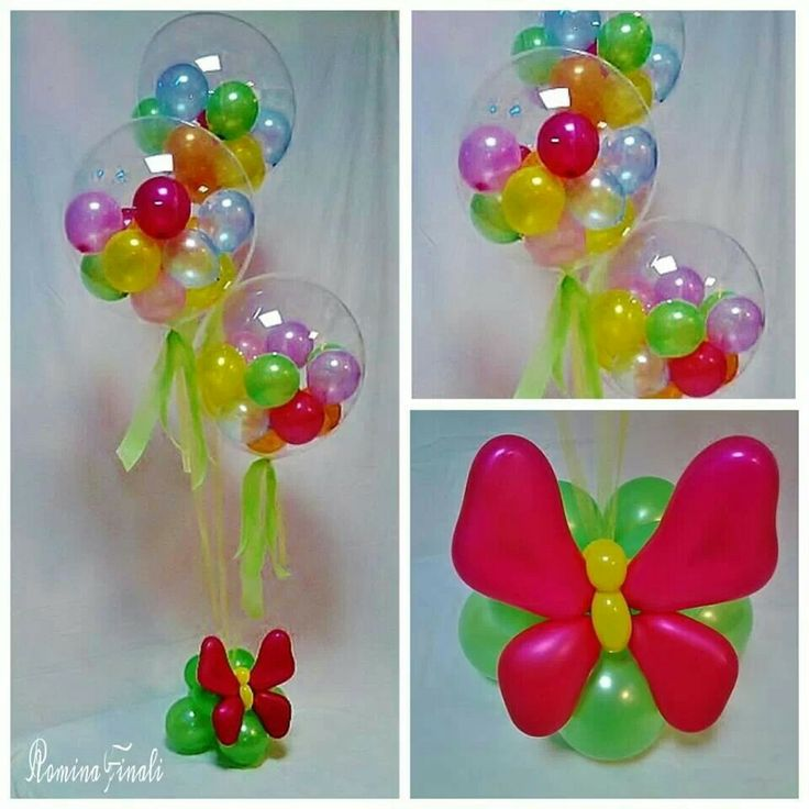 Butterfly table centre pieces balloons pinterest