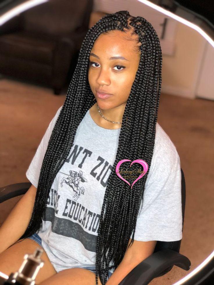 ғᴏʟʟᴏᴡ ᴛʜᴇ ᴘɪɴᴛʀᴇsᴛ@₂₃ʙʟᴏᴏᴍᴇᴅᴘᴜᴍᴀs🐆 in 2020 | Short box braids, Box braids hairstyles, Box ...