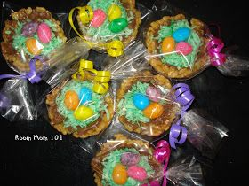 Room Mom 101: Easter Egg Nest Treat Idea