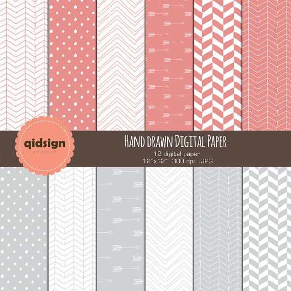 Hey, I found this really awesome Etsy listing at https://www.etsy.com/listing/182946187/hand-drawn-digital-paper-chevron