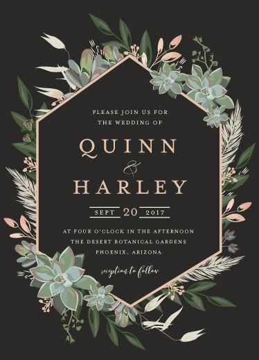 Elije el estilo de tu enlace y refléjalo en las invitaciones. Será el mejor comienzo para tu gran día. #wedding #invitaciones