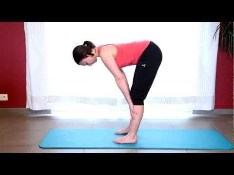 ▶ 10 minutes pour un corps souple et tonique:Stretch yoga tutorial routine - YouTube