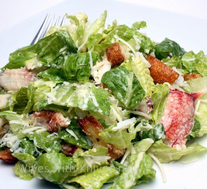 Ina Garten Green Salad: 8 Best Crab Caesar Salad Images On Pinterest