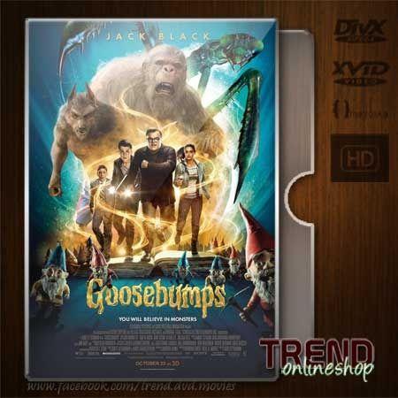 Goosebumps (2015) / Jack Black, Dylan Minnette / Adventure, Comedy, Fantasy / Ind / 1080p | #trendonlineshop #trenddvd #jualdvd #jualdivx